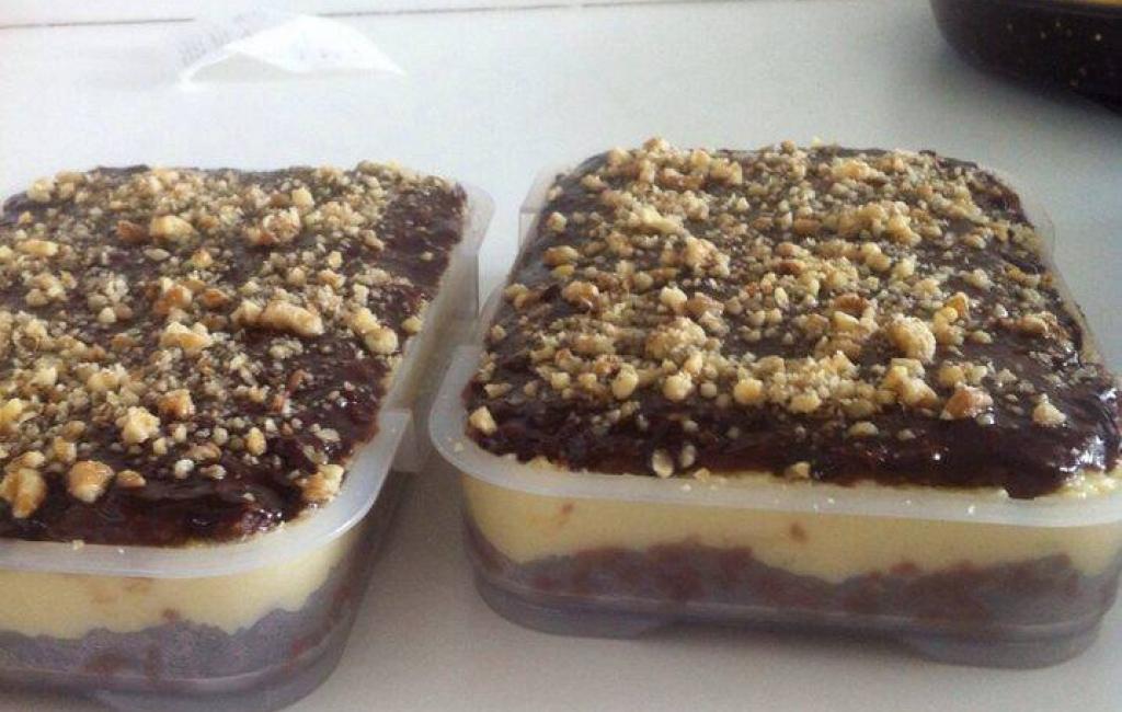 Ëmbëlsir me pudingë nga Bo Na