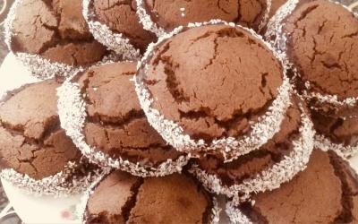 Biskota me kakao dhe kokos
