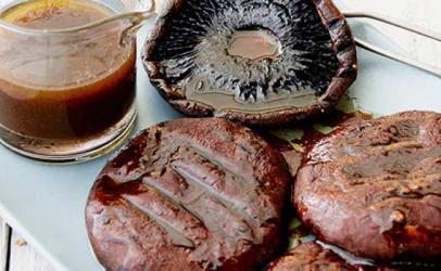 Kërpudha Kapele në grilë