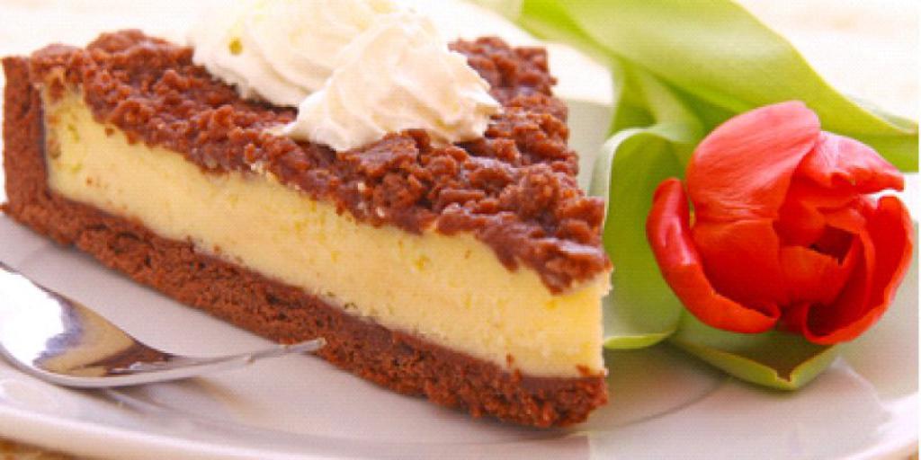 Cheesecake me qokolad dhe kanell