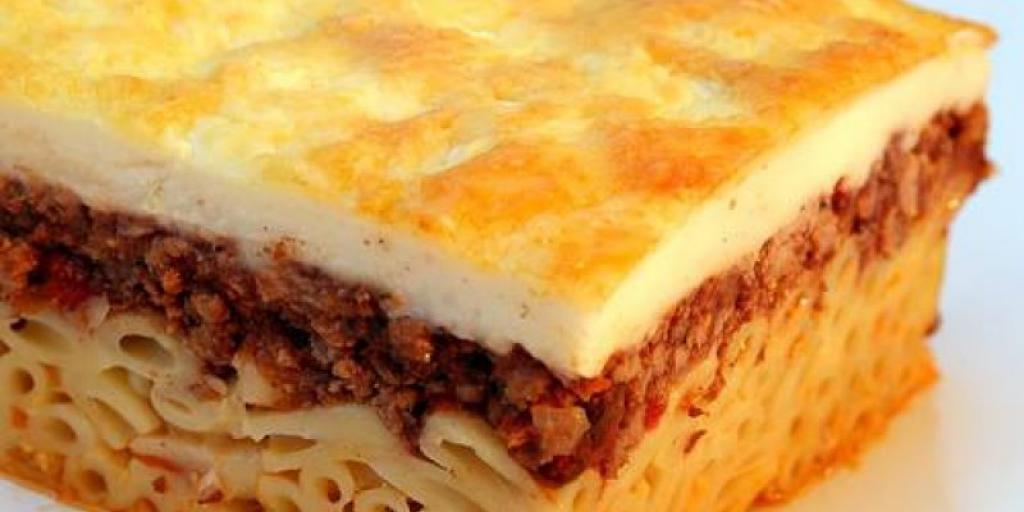 Makarona pasta) ne furrè