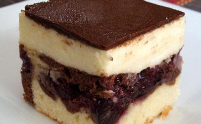 Torte me krem vishnje