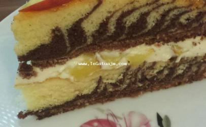 Torta zeber me puding