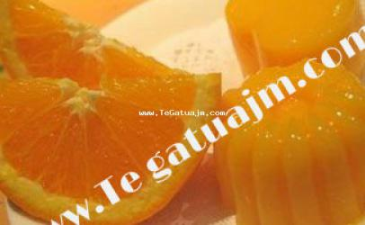 Puding portokalli me xhelatin