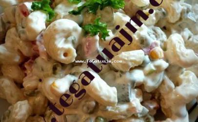 Pasta with cream