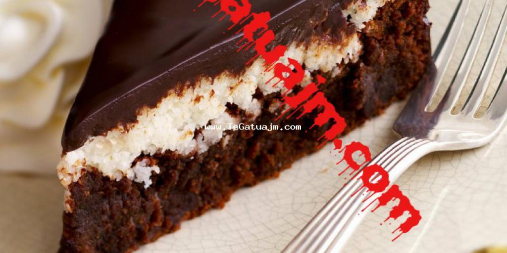 Tortë me çokollatë dhe kokos