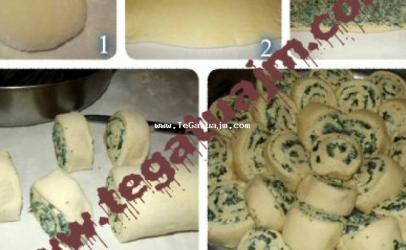 Pogaqe me djathë dhe spinaqë