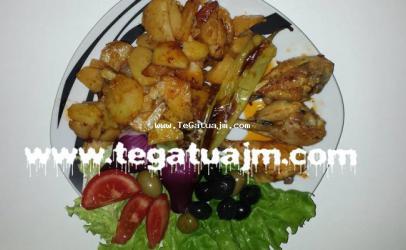 Kofsh pule me patate