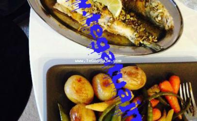 Peshqi me sos dhe perime