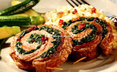 Biftek nga mish lope rolad