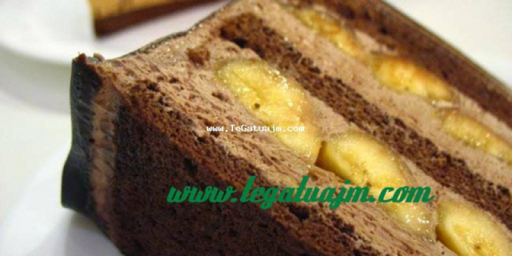 Torte me krem dhe banane