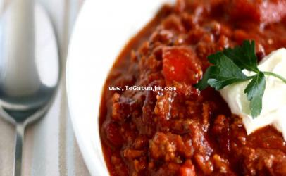 Qorbë me mishë të bluar fasule të kuqe