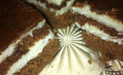 Torte me griz dhe kokos