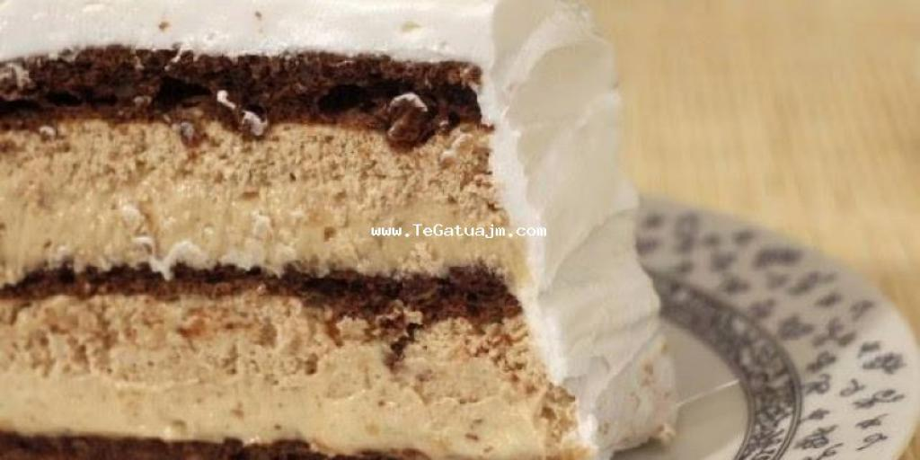 Torte e shishme me dy krema