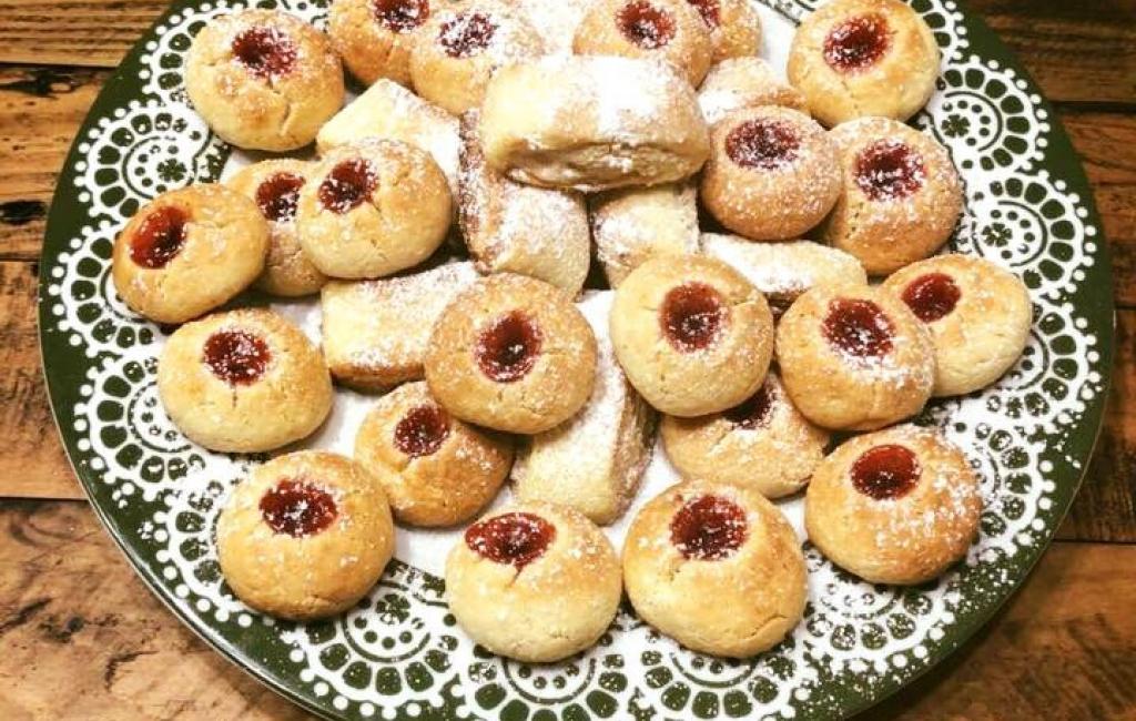 Biskota me marmeladë maline