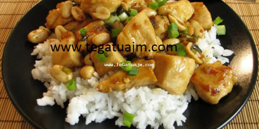 Recet kineze me mish te bardhe dhe kikirik