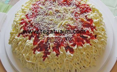 Shpageti torte