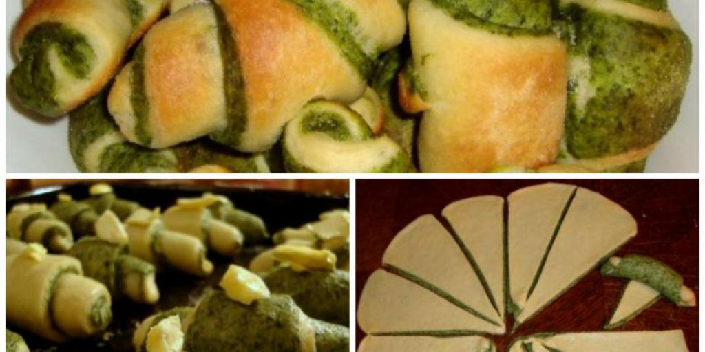 Kifle irlandeze me spinaqë