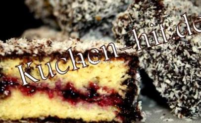 Lamingtons- Receta