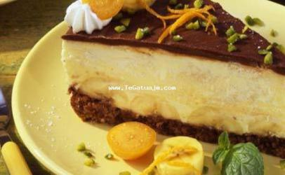 Torte me banane dhe qokollad